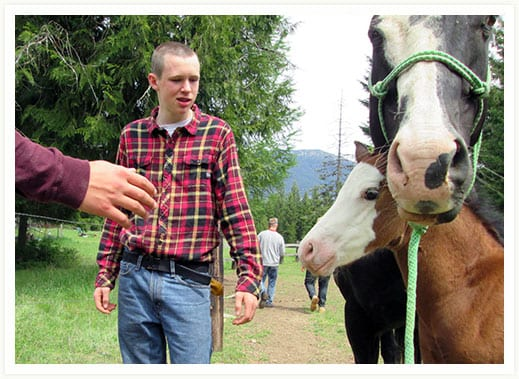 Equestrian Therapy for Struggling Teen Boys - Wood Creek Academy