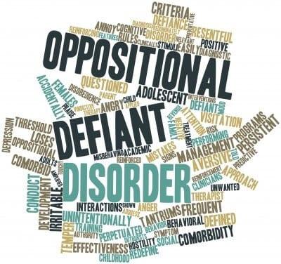 Teen Oppositional Defiance Disorder